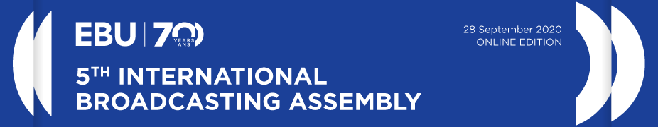 5th International Broadcasting Assembly 2020 - Online Edition